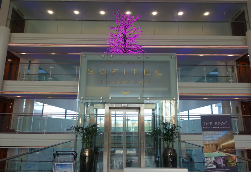 Sofitel London Heathrow Review-Entrance from Terminal 5