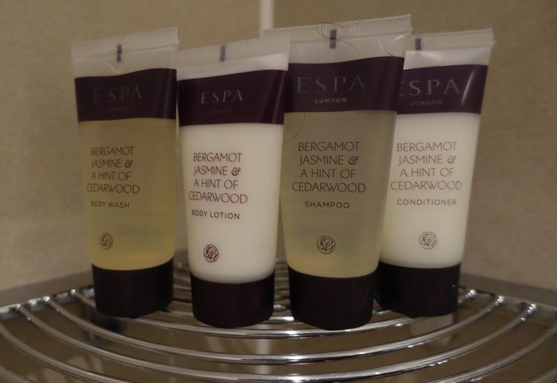 Sofitel London Heathrow Review-Espa Bath Products