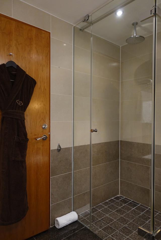 Walk-in Shower, Sofitel London Heathrow Luxury Room Review