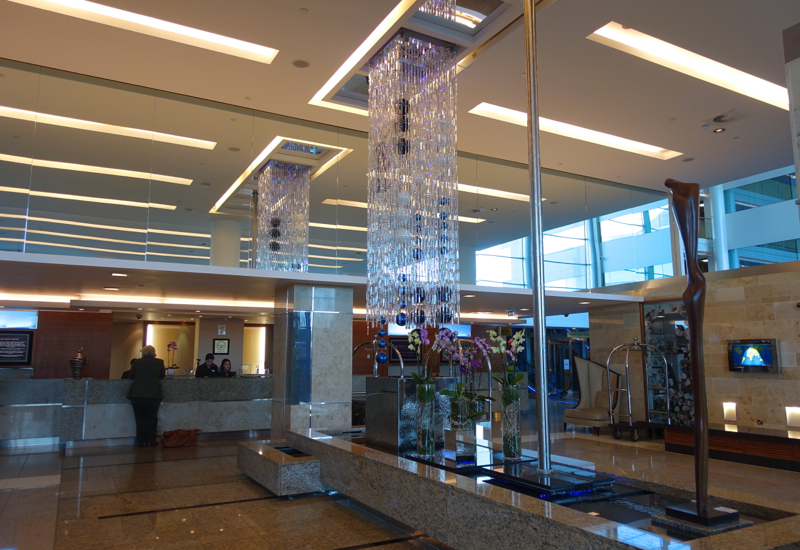 Sofitel London Heathrow Review: Reception and Front Desk