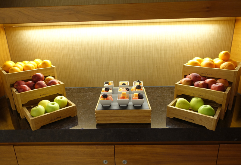 Sofitel London Heathrow Review-Fruit in Club Lounge