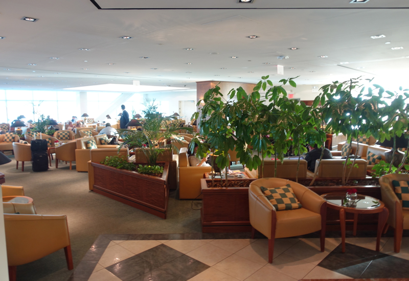 Review-Emirates Lounge JFK-Seating