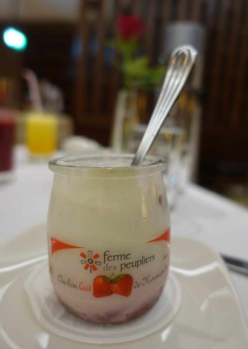 La Ferme des peupliers Yogurt, Emirates First Class Lounge DXB