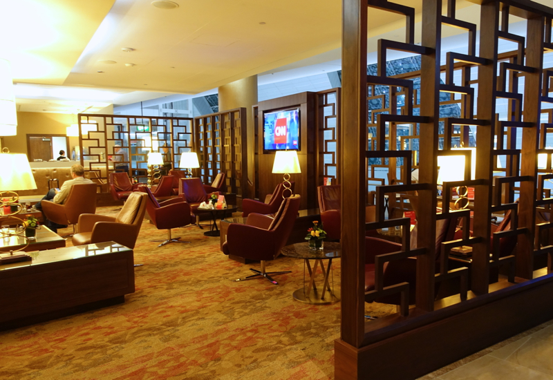 Review: Emirates First Class Lounge, Dubai