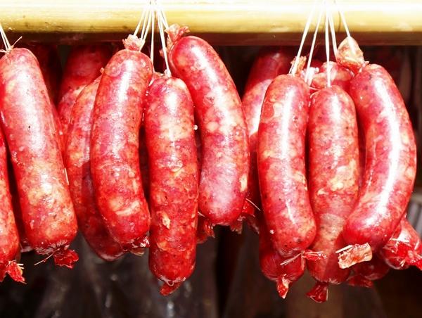 Longganisang Lucban (pork sausages), Quezon