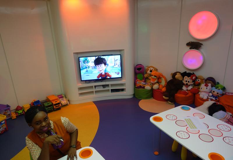 Kids' Play Room, Etihad Business Class Lounge Abu Dhabi Review