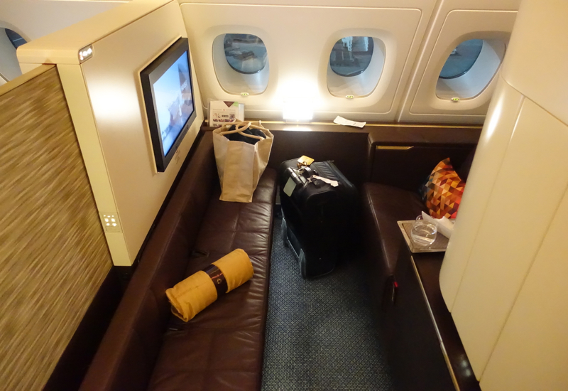 Seat 4K, Etihad A380 First Class Apartment Review