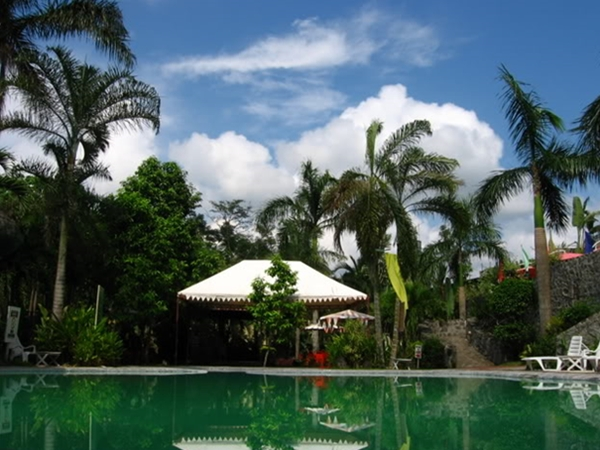 Pool, Queen Margarette Hotel, Lucena City, Quezon