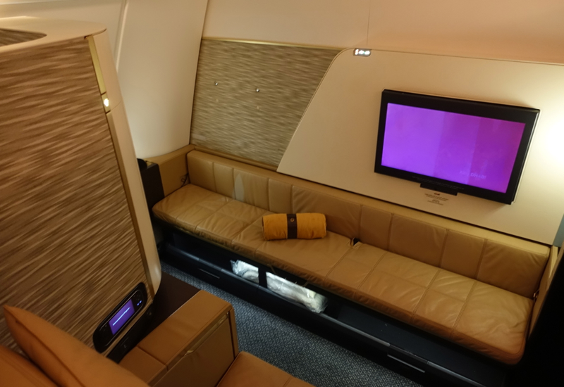 Etihad First Apartment on the A380