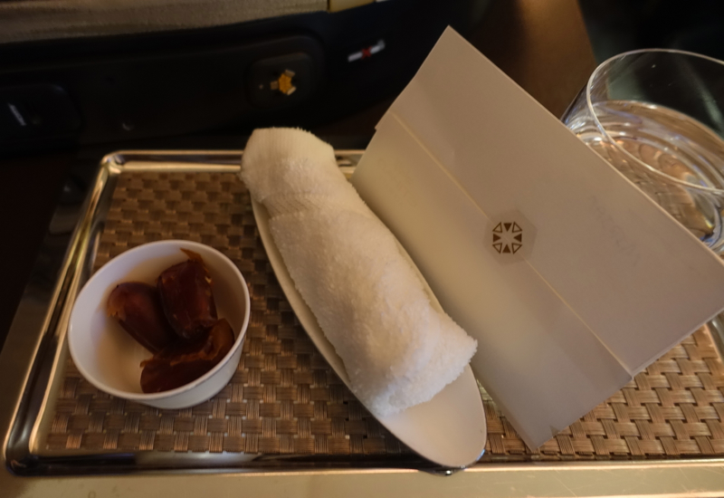 Pre-Flight Drink and Dates, Etihad A380 First Apartment Review