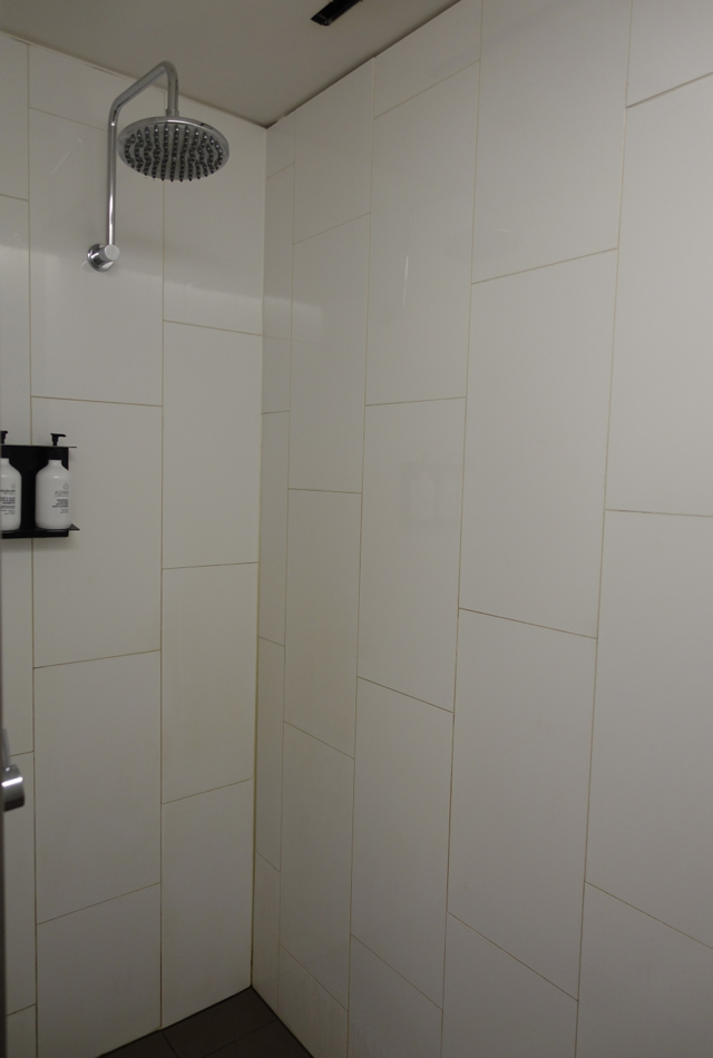 Shower, Qantas Business Class Lounge Review, Melbourne