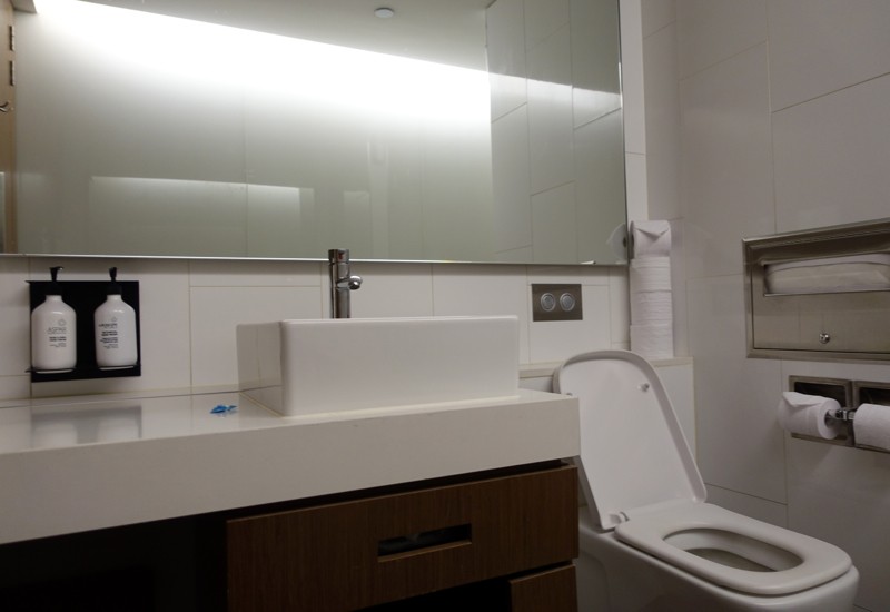 Shower Room, Qantas International Business Class Lounge, Melbourne Review