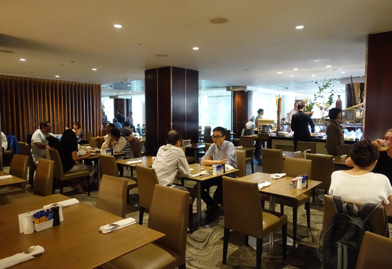 Cafe Mix Seating, Shangri-La Sydney Review