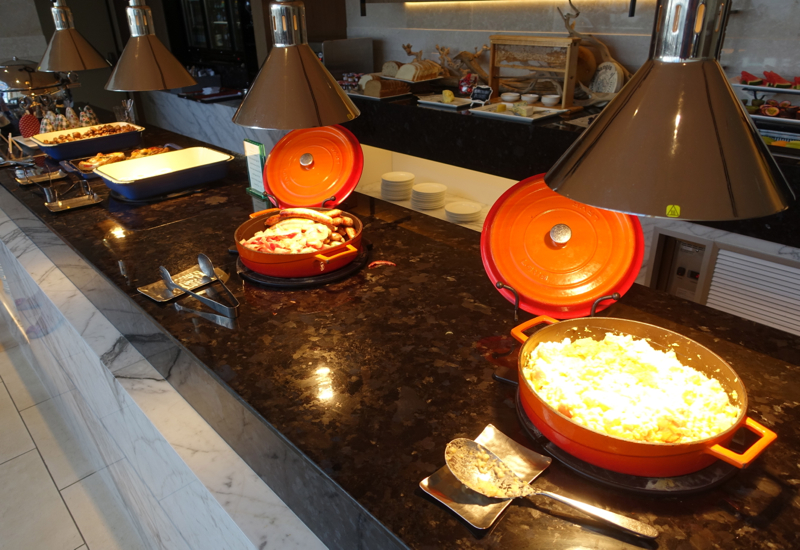 Hot Buffet, Horizon Club Lounge, Shangri-La Sydney Review