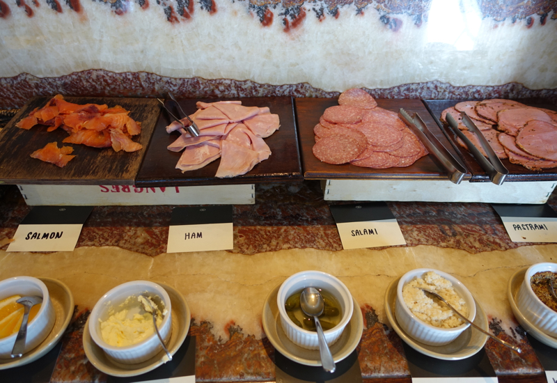 Smoked Salmon and Cold Cuts, Sofitel Auckland Review