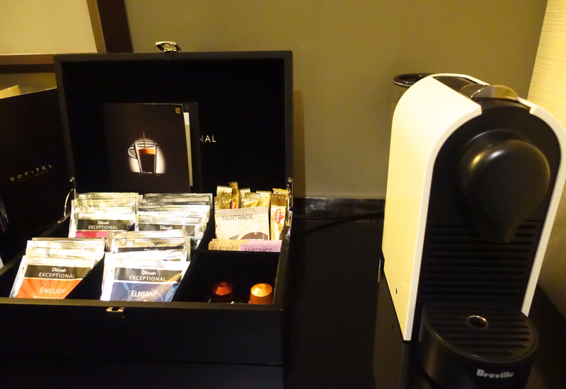 Espresso Maker, Sofitel Auckland Review