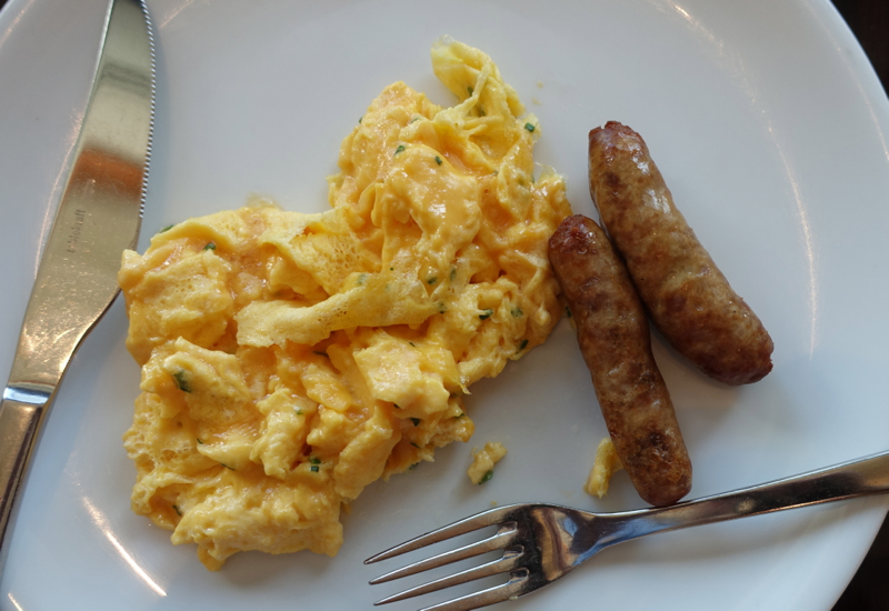 Scrambled Eggs, Sofitel Auckland Review
