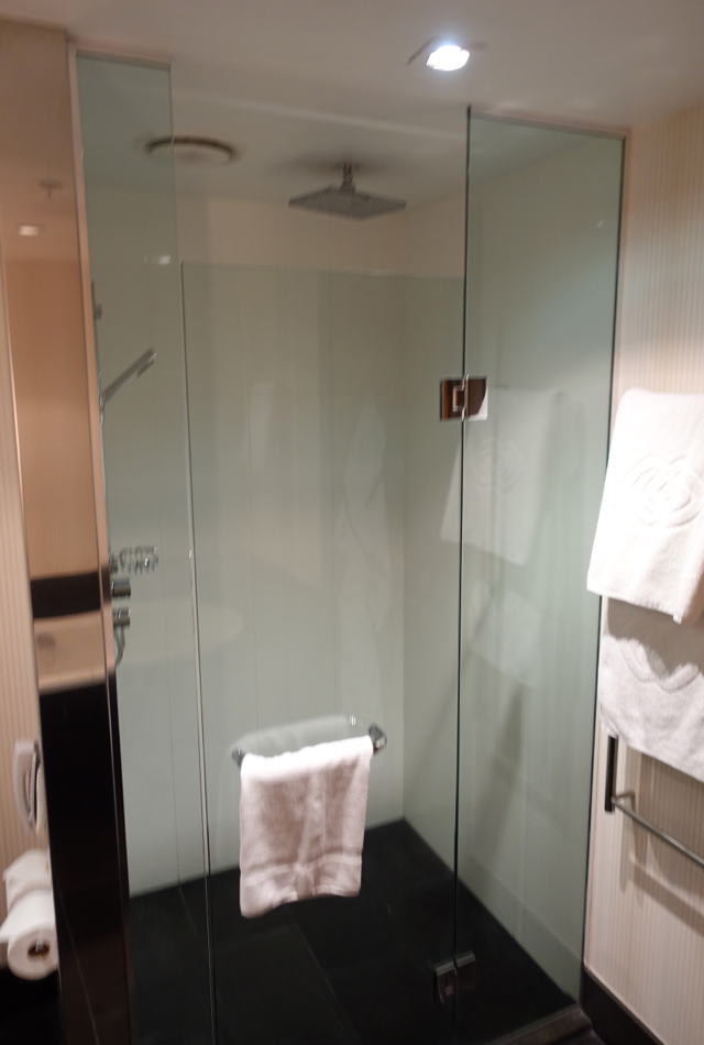 Rain Shower, Sofitel Auckland Review