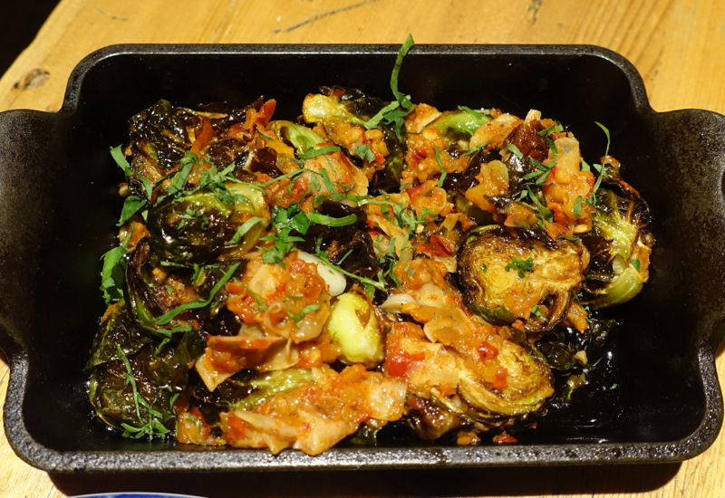 Crispy Brussels Sprouts, Amali NYC Restaurant Review