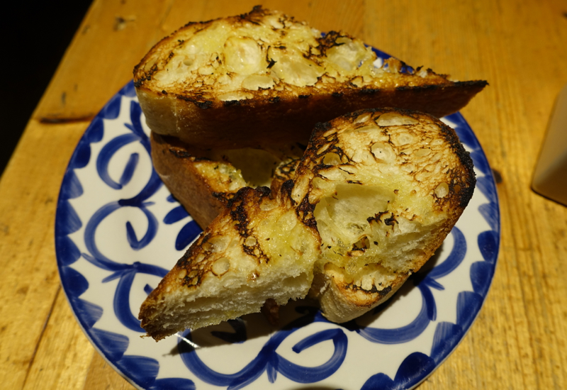 Grilled Bread, Amali Restaurant Review, NYC