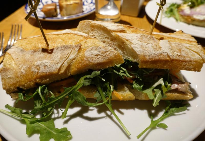 Pork Sandwich, Amali NYC Restaurant Review