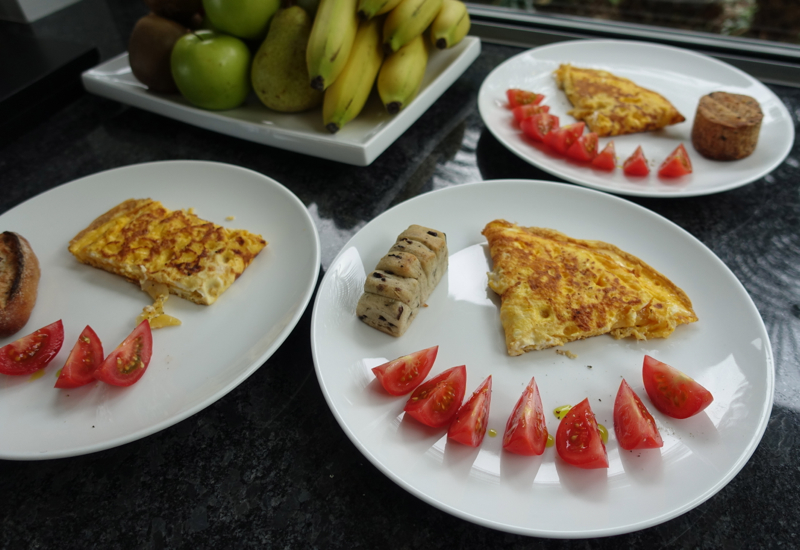 Omelets, Eagles Nest Review, New Zealand