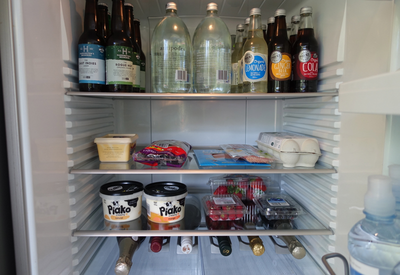 Stocked Fridge, Eagles Spirit Villa, Eagles Nest Review