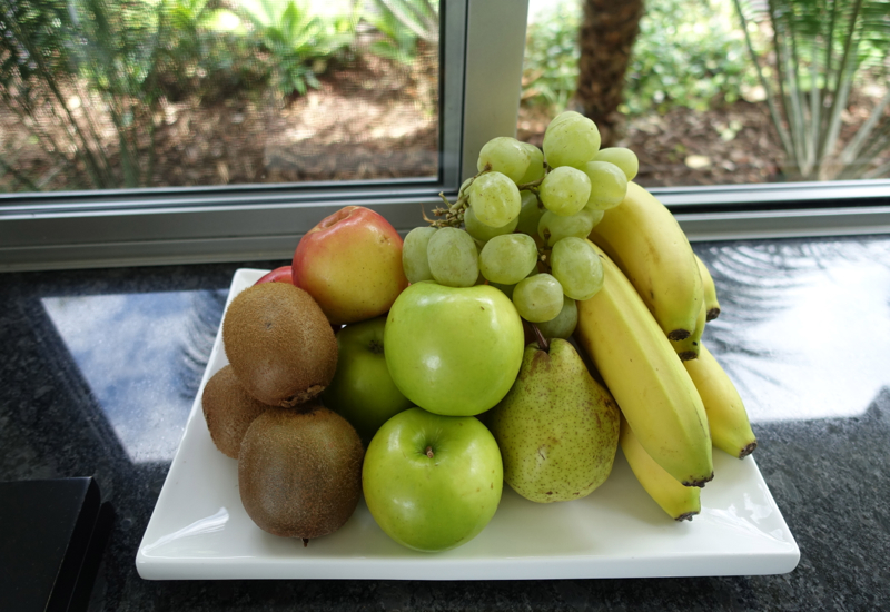 Fruit Welcome Amenity, Eagles Nest Review, New Zealand