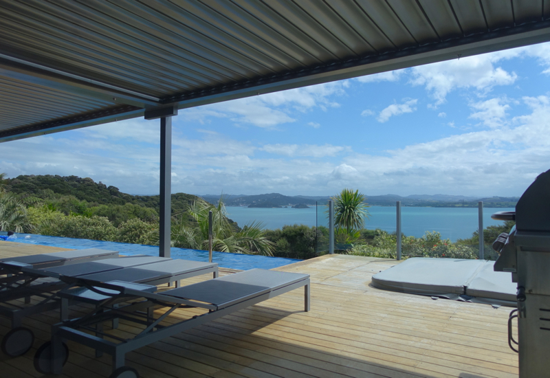 Eagles Spirit Villa Deck and Infinity Pool, Eagles Nest Review