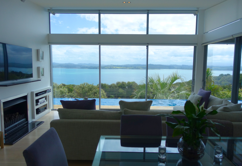 Eagle Spirit Villa, Eagles Nest Review, Bay of Islands, New Zealand