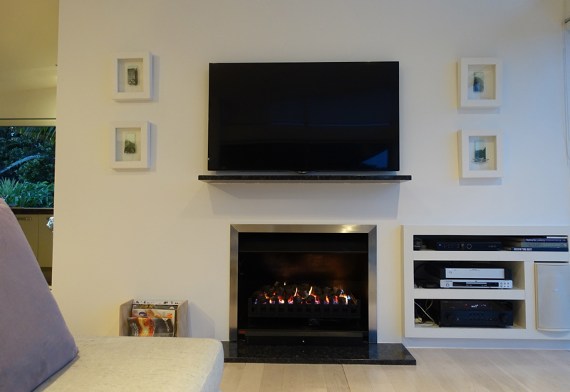 Fireplace, Eagles Spirit Villa, Eagles Nest Review