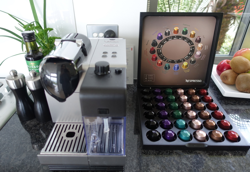 Nespresso Machine, Eagle Spirit Villa, Eagles Nest Review