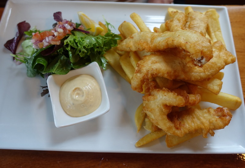 Fish and Chips, The Gables Restaurant Review, Russell New Zealand
