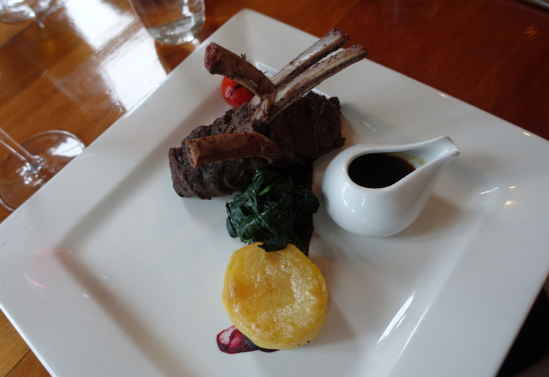 Wild Venison, The Gables Restaurant Review, Russell New Zealand