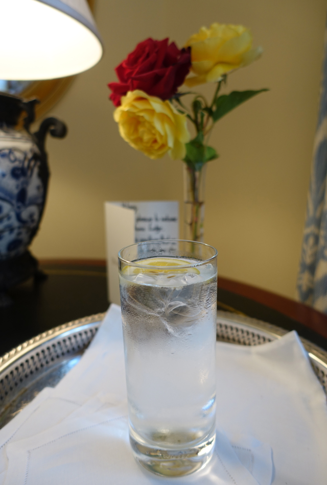 Welcome Drink, Welcome Note and Fresh Flowers, Otahuna Lodge Review