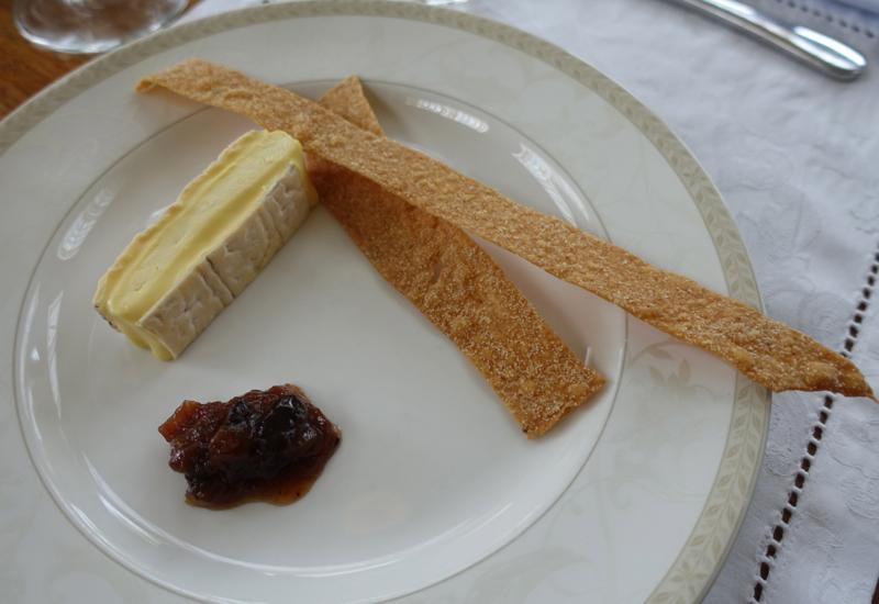 Bureaucrat Cheese, Otahuna Lodge Dining Review