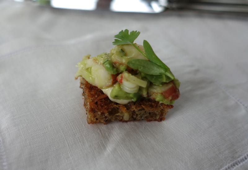 Otahuna Lodge Dining Review: Amuse Bouche
