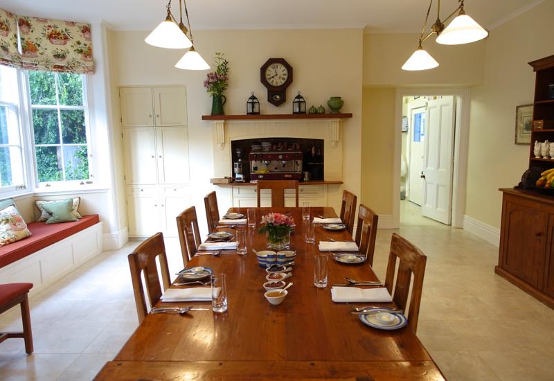 Breakfast Room, Otahuna Lodge Review