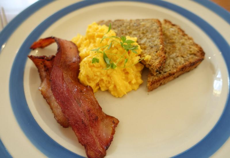 Scrambled Eggs and Bacon, Breakfast at Otahuna