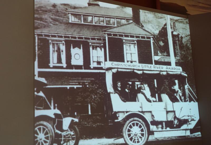 Film on Akaroa's History at the Akaroa Museum