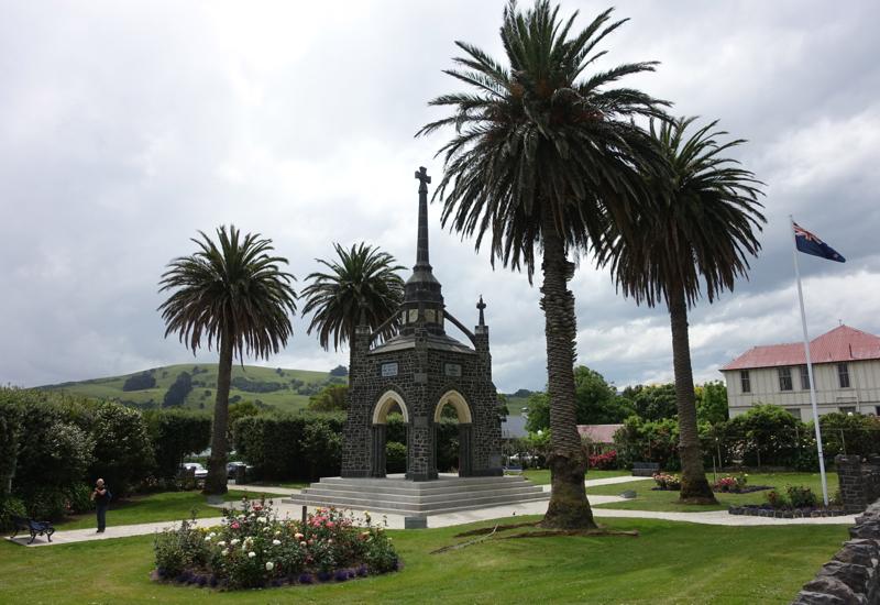 Akaroa's War Memorial