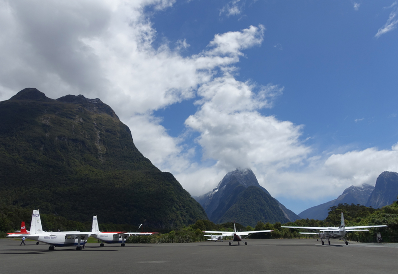 Milford Sound Flight with Air Milford Review