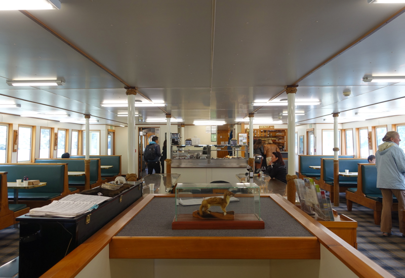 Interior of Milford Mariner Ship, Milford Sound Cruise Review