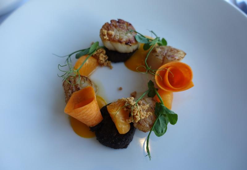 Roasted Scallops, Matakauri Lodge Dinner Review