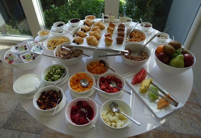 Breakfast Buffet, Matakauri Lodge Review