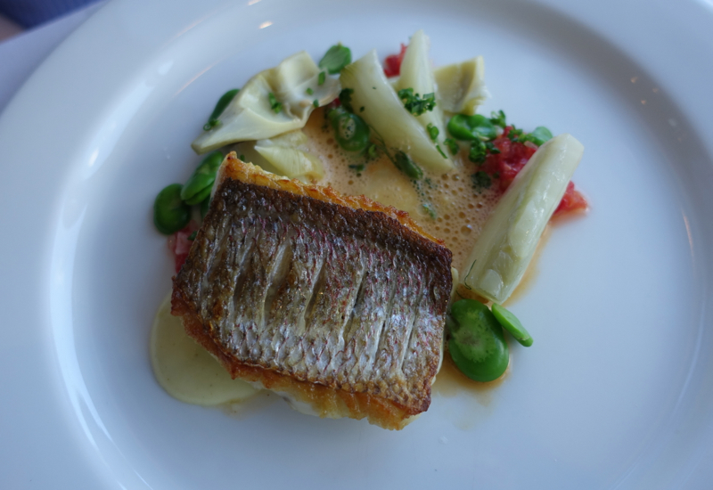 North Island Snapper, Matakauri Lodge Dinner Review, Queenstown