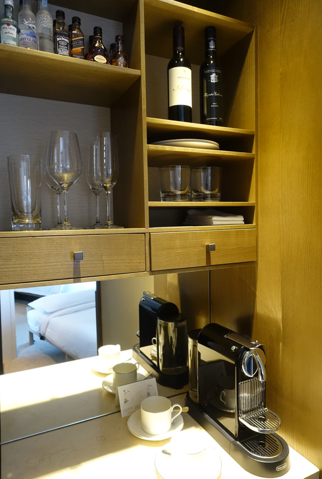 Nespresso Maker, Park Hyatt Sydney Review