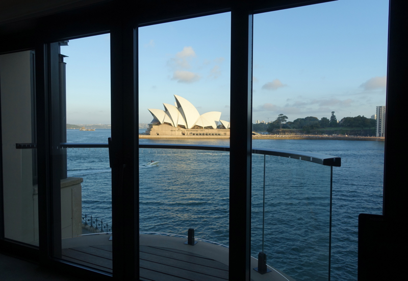Park Hyatt Sydney Review-View of Opera House from Opera Deluxe Room