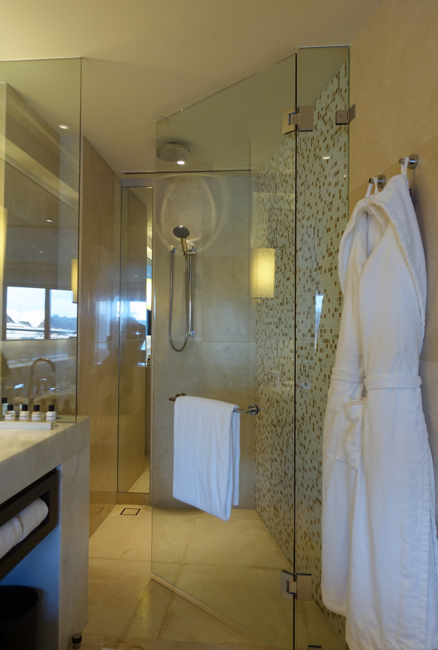 Rain Shower, Opera Deluxe Room, Park Hyatt Sydney Review