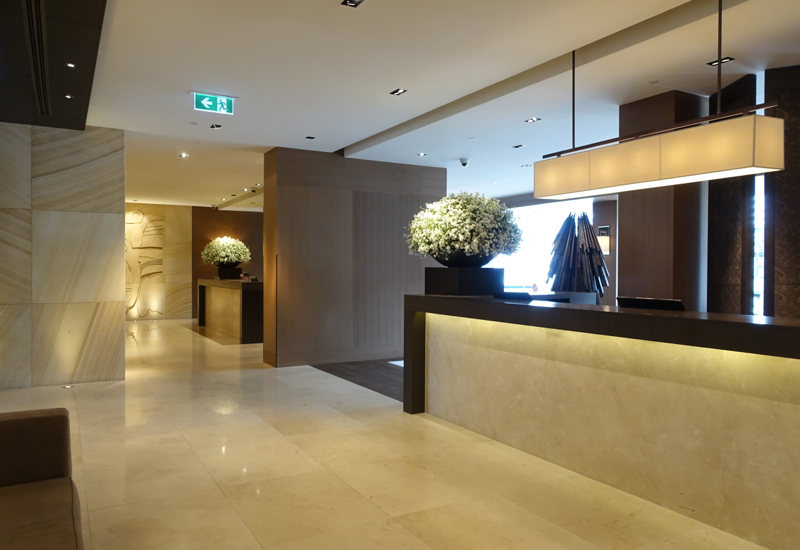 Review: Park Hyatt Sydney Reception and Lobby